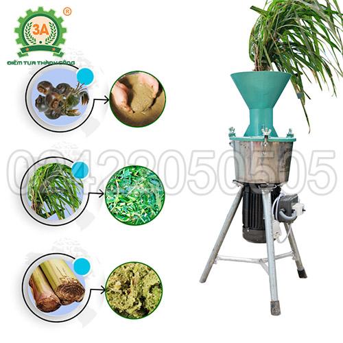 Máy chế biến thức ăn chăn nuôi đa năng 3A1,5Kw (00)
