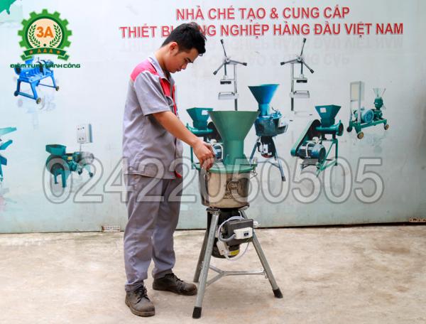 Hình ảnh sản phẩm Máy chế biến thức ăn chăn nuôi đa năng 3A1,5Kw