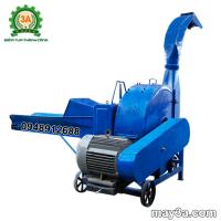 Máy băm cỏ cây ngô 9RC-100 giúp băm cỏ 1-4 tấn/giờ