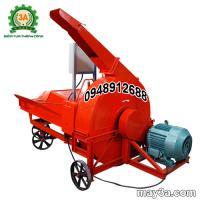 Máy băm cỏ công nghiệp 9RC-130 có năng suất lớn 3-10 tấn/giờ