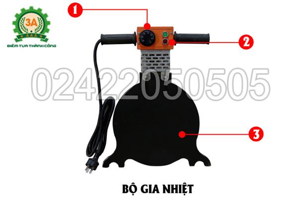 Bộ gia nhiệt của Máy hàn ống nhựa 3A HTX250