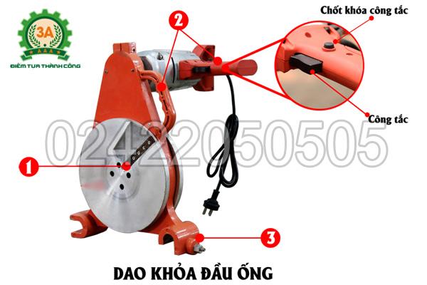 Dao khỏa đầu ống của Máy hàn ống nhựa 3A HTX250