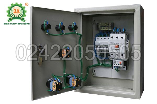 Tủ điện của máy nghiền bèo, rơm, cỏ 3A11Kw