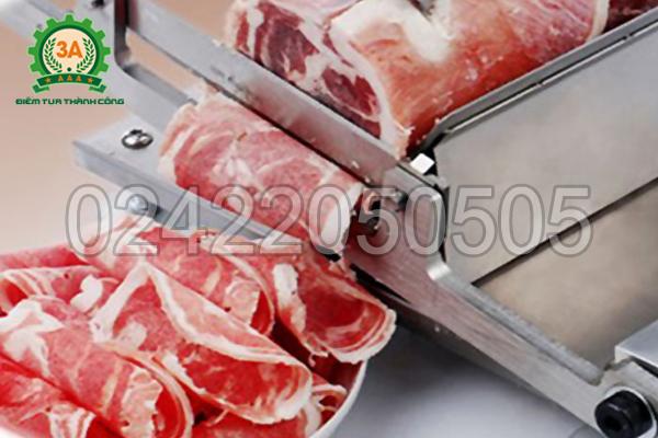 Thái thịt đông lạnh dễ dàng với Thiết bị thái thịt đông lạnh 3A