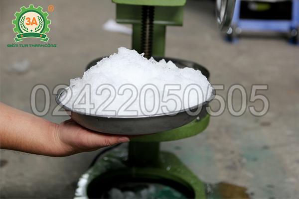 Máy bào đá tuyết 3A dễ dàng sử dụng máy ngay cả khi không có nguồn điện