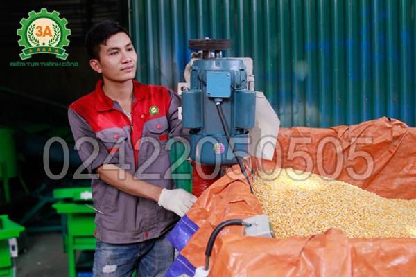 Máy hút hạt nông sản 3A6M không gây bụi khi làm việc