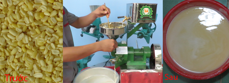 Máy nghiền đậu bột nước 3A370Kw