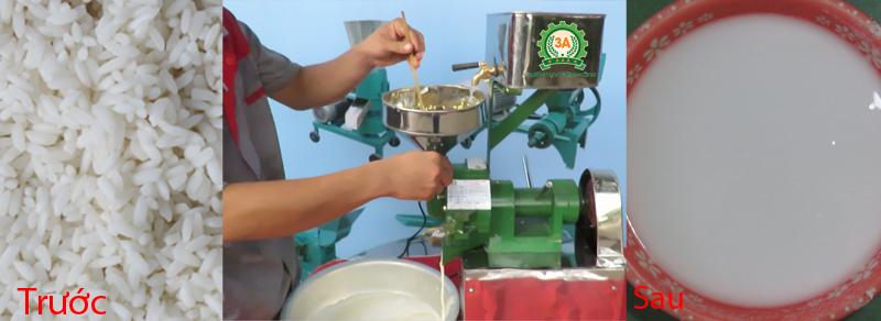 Máy nghiền gạo bột nước 3A370Kw