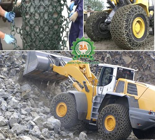 Xích bọc lốp bảo vệ lốp trên mọi địa hình khác nhau