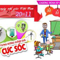Chào mừng ngày nhà giáo Việt Nam 20-11-2015