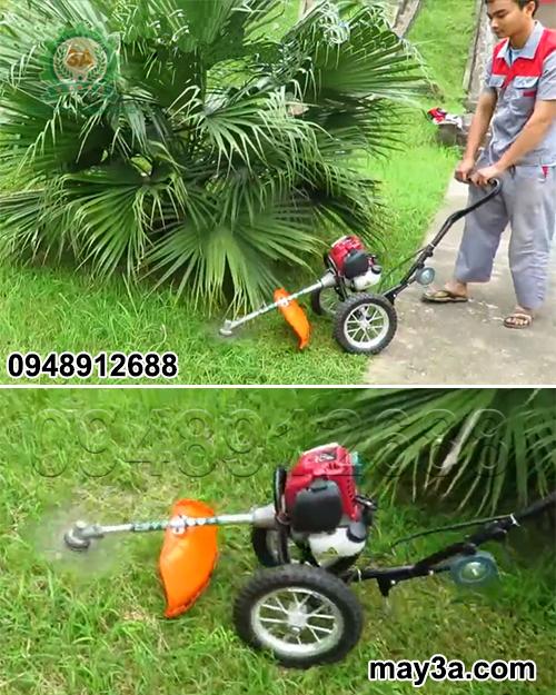 Máy cắt cỏ bánh xe 3A (loại 1 tay cầm)
