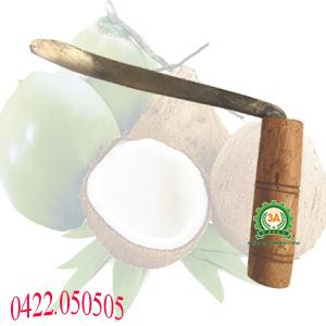Tự làm dầu dừa với dụng cụ tách cùi dừa
