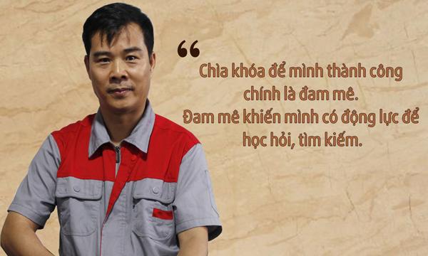 Nhà sáng chế ra máy chế biến thức ăn chăn nuôi 3A2,2Kw phễu tròn - Nguyễn Hải Châu