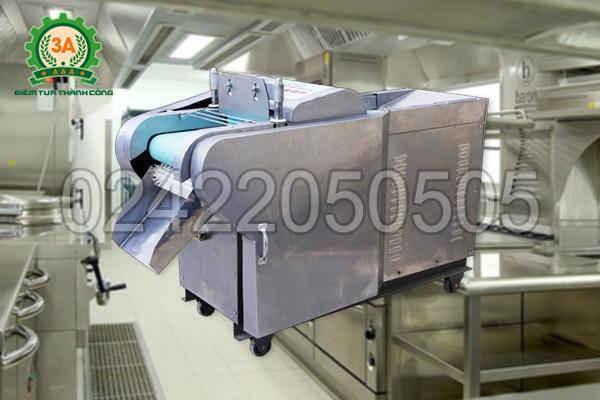 Hình ảnh Máy cắt rau củ đa năng 3A2,2Kw có băng tải