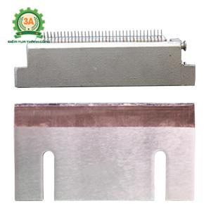 Linh kiện máy thái sợi rau củ quả 3A1,5Kw: dao thái sợi 3mm và dao thái lát