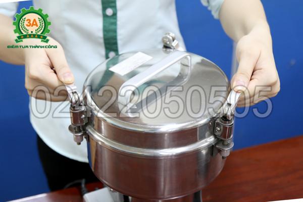 Đóng chốt giữ nắp máy nghiền bột siêu mịn 3A2Kg