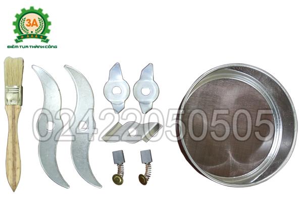 Phụ kiện đi kèm của Máy nghiền bột siêu mịn 3A2Kg