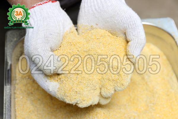 Sản phẩm bột ngô của Máy vỡ ngô thành mảnh 3A2,2Kw