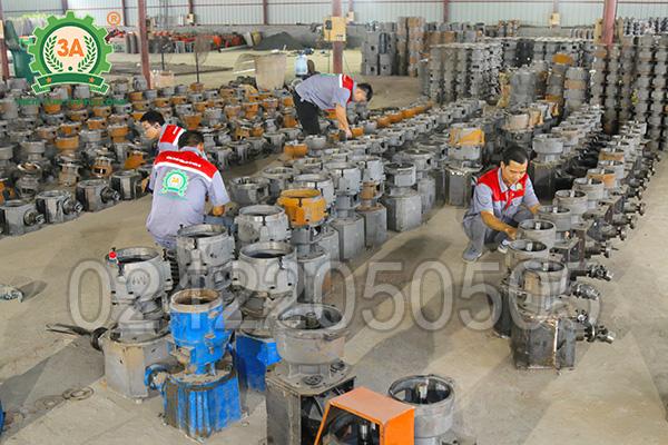 Xưởng sản xuất máy ép cám viên 3A (12)