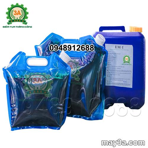 Ứng dụng chế phẩm EM trong xử lý rác thải