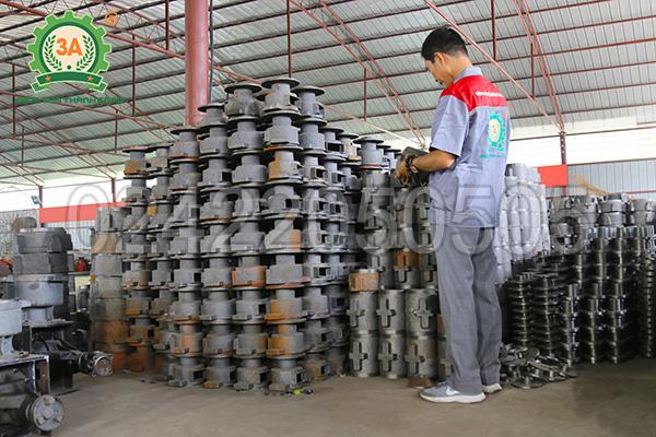 Xưởng sản xuất máy ép cám viên 3A (01)