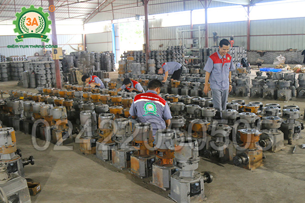 Xưởng sản xuất máy ép cám viên 3A (03)