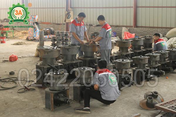 Xưởng sản xuất máy ép cám viên 3A (04)