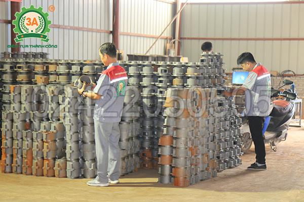 Xưởng sản xuất máy ép cám viên 3A (06)
