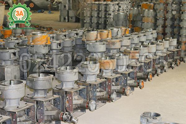 Xưởng sản xuất máy ép cám viên 3A (07)