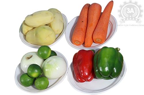 Nguyên liệu dùng cho máy thái rau củ quả inox