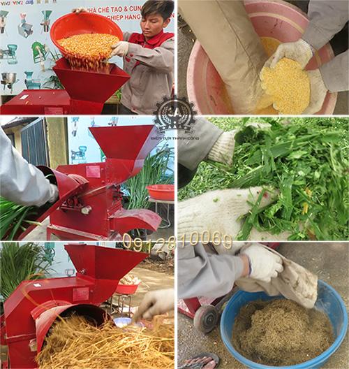 Sản phẩm của Máy băm nghiền thức ăn gia súc 3A8HP