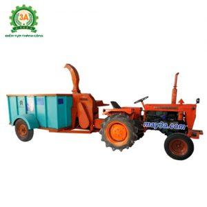 Máy băm cỏ voi di động 3A giúp băm cỏ và vận chuyển cỏ dễ dàng