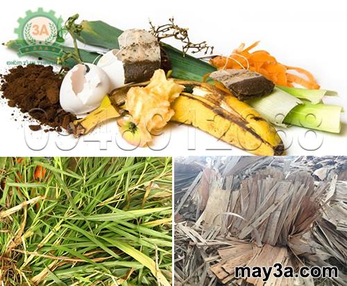 Một số nguyên liệu đầu vào khác của Máy băm phế phẩm nông nghiệp 3A11Kw
