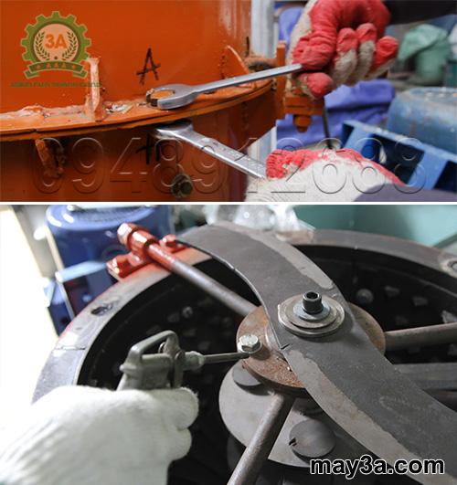 Vệ sinh máy băm phế phẩm nông nghiệp 3A11Kw