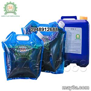 Chế phẩm sinh học EM để sản xuất bột bã mía trong nuôi tôm