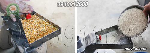 Một số nguyên liệu đầu vào dùng cho Máy xay bột khô 3A LM2.2Kw