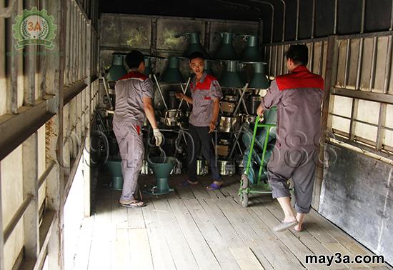 Chuyến hàng mang thương hiệu 3A: Dòng máy băm nghiền đa năng đang là sự lựa chọn hàng đầu của nhiều hộ nông dân