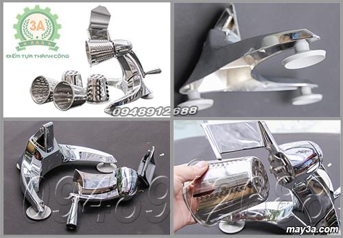 Dụng cụ cắt rau củ quả đa năng 3A dễ lắp ráp và tháo rời các chi tiết trong quá trình sử dụng