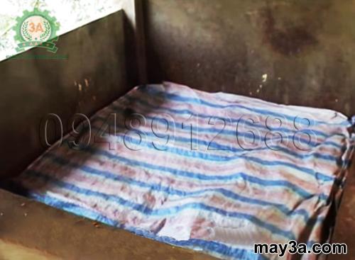 Cách làm đệm lót sinh học cho lợn: Bà con đậy bạt cho đệm lót sinh học