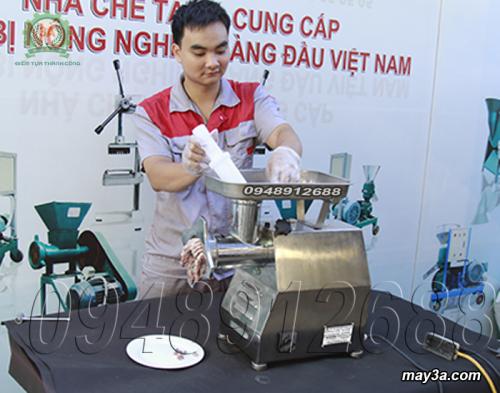 Kỹ thuật viên vận hành Máy xay thịt inox 3A GT2,2KW