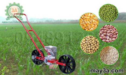 Dụng cụ gieo hạt giống một hàng 3A (kiểu xe đẩy) gieo được đa dạng các loại hạt