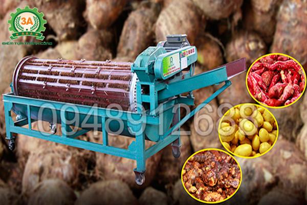Sản phẩm máy rửa củ nông sản 3A XD500