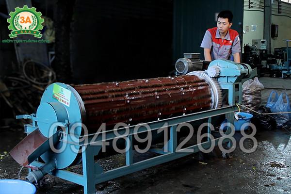 Máy rửa củ nông sản 3A XD500