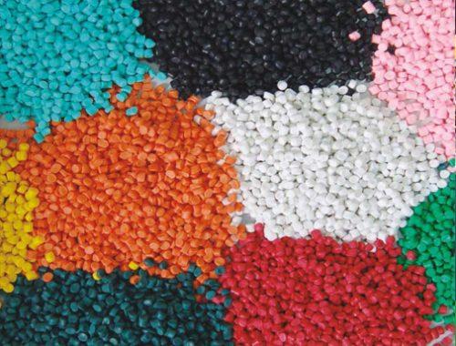 Hình minh họa hạt nhựa tái chế