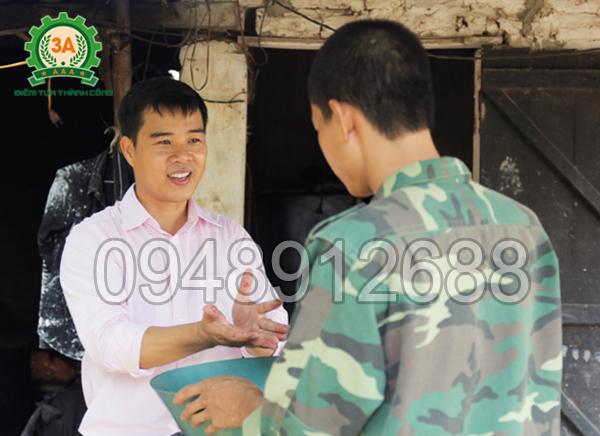 Máy chế biến thức ăn chăn nuôi 3A là tâm huyết của Nhà sáng chế Nguyễn Hải Châu
