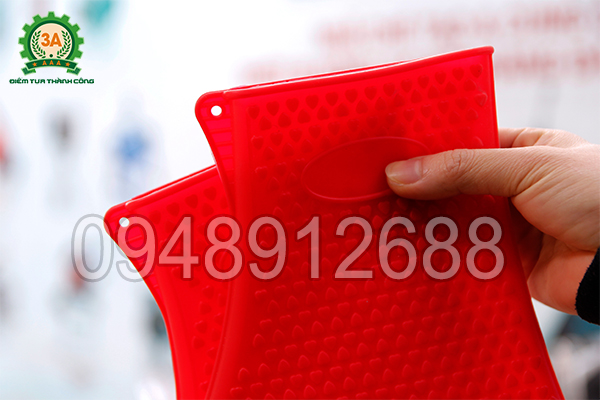 Góc găng tay cách nhiệt đa năng 3A có lỗ nhỏ tiện lợi cất giữ khi không sử dụng