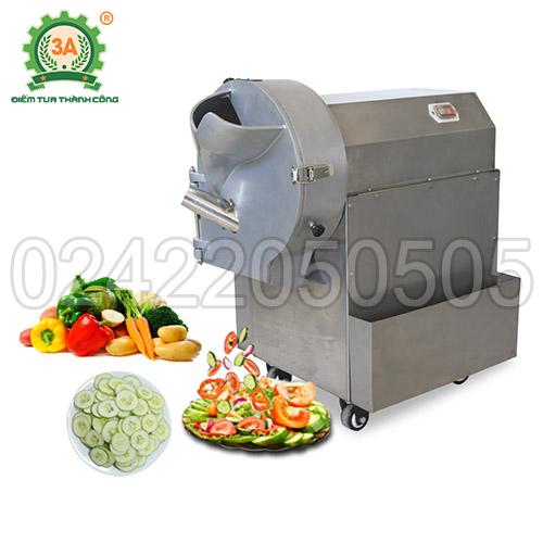 Máy cắt rau củ công nghiệp 3A1,5Kw (00)