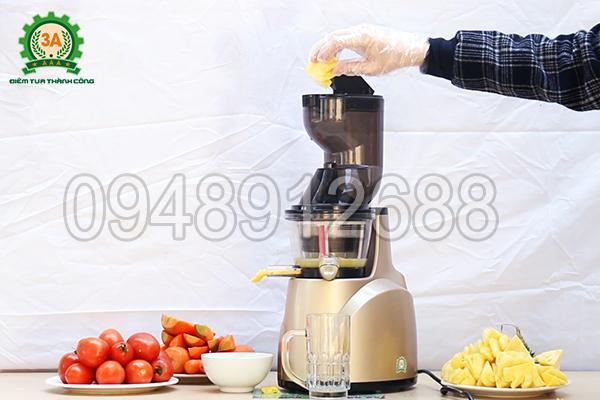 Máy ép trái cây 3A ép được gấp 4 lần so với máy ép thông thường