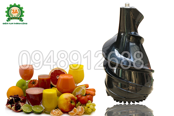 Máy ép trái cây 3A có khả năng ép gấp 4 lần so với máy ép thông thường