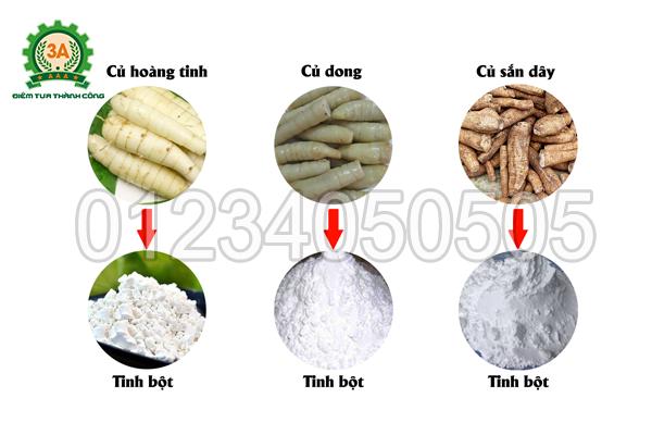Máy nghiền nghệ 3A3Kw (Inox) có khả năng nghiền được đa dạng nguyên liệu